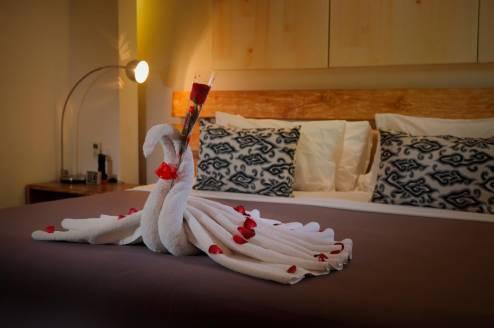 seiryu villas royal pool villa accommodation honeymoon setup